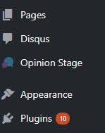WordPress Plugin Sidebar