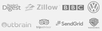 Logo list of customer using Opinion Stage quiz maker