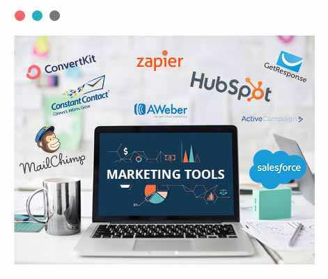 Survey submissions send to marketing tools
