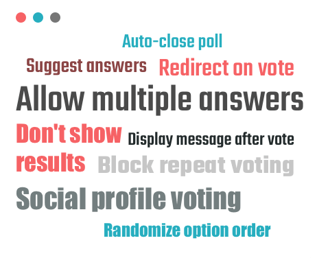 Poll Maker Features