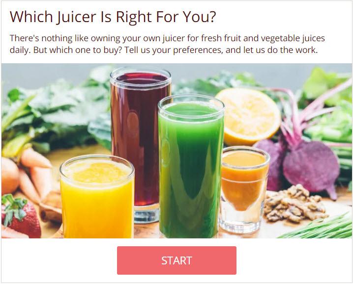 Shopify quiz example