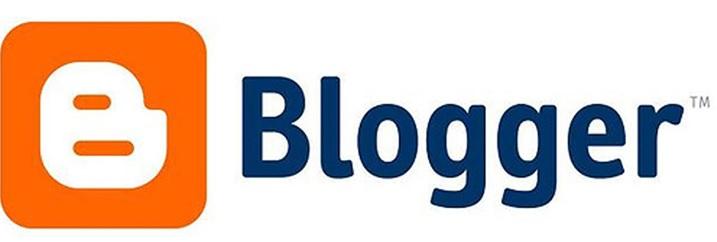 Blogger form logo