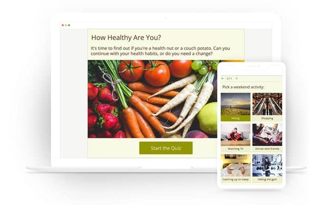 MailChimp Quiz Example