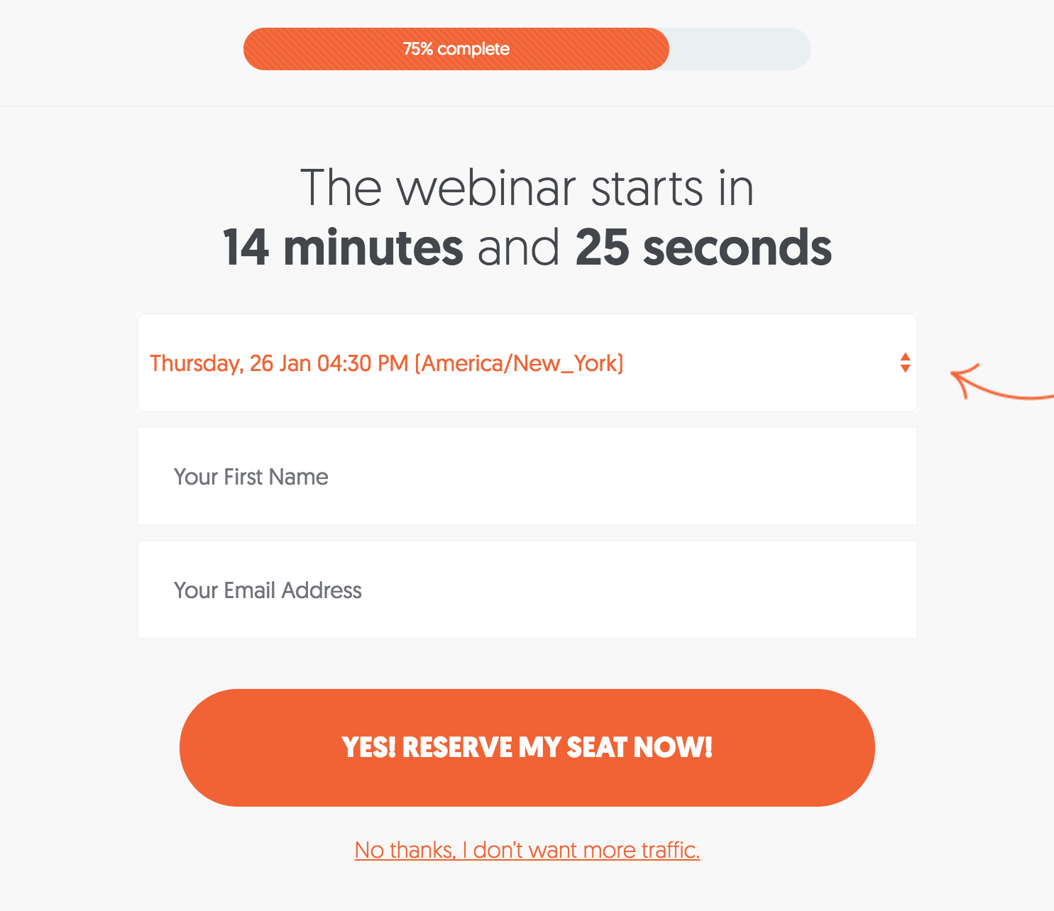 Educate customers with webinars